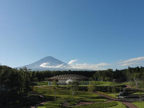 富士山樹空の森からの富士山 #fujisan