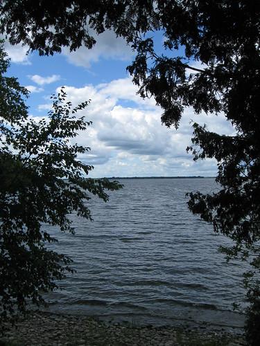 vermont lakechamplain lake islelamotte unitedstatesofamerica newengland