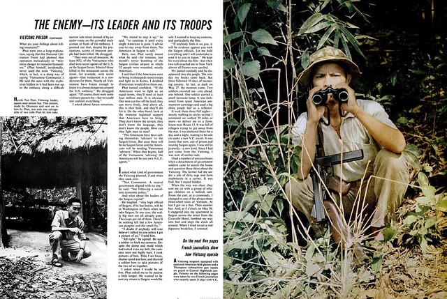 LIFE Magazine July 2, 1965 - Life with the Viet Cong (4)