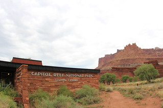 Capitol Reef Vistor Center