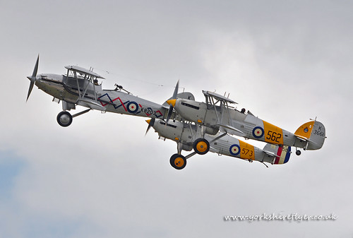 The Older Hawkers. Flying  Legends 2011