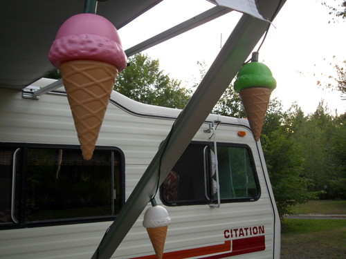 Ice Cream Cone Patio Lanterns