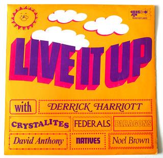 """""""Live It Up"""" Big Shot Records 1968"""