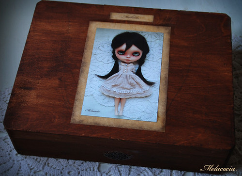 Mathilda's special wooden box