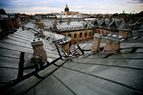 rooftops of st.petersburg