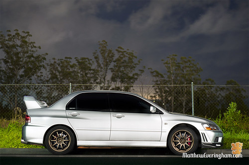 Lightpainting my evo