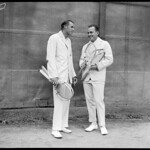 Bill Tilden / Francis Hunter - Longwood