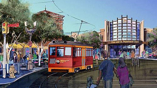 Red Car Trolley and Elias and Company Concept