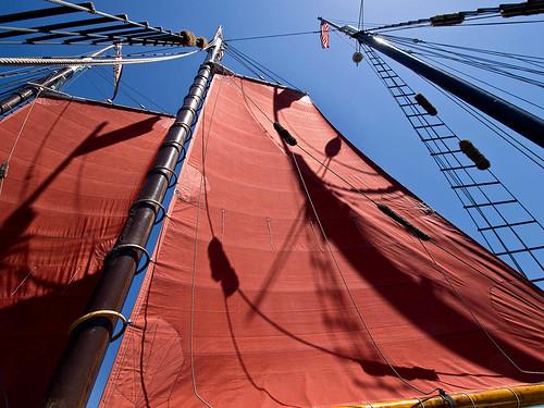 Aboard the Tallship American Pride