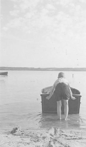 Boat At Little Eden Camp