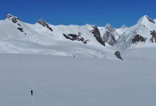 Breithorn crossing