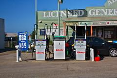 filling station, vehicle, transport, advertising,