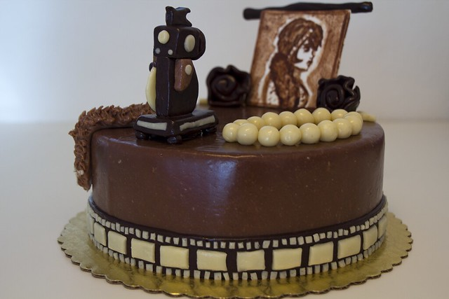 1920's Themed Modeling Chocolate Cake | For my Centerpiece ...