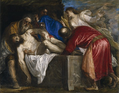 The Burial of Christ, 1559, by Titian