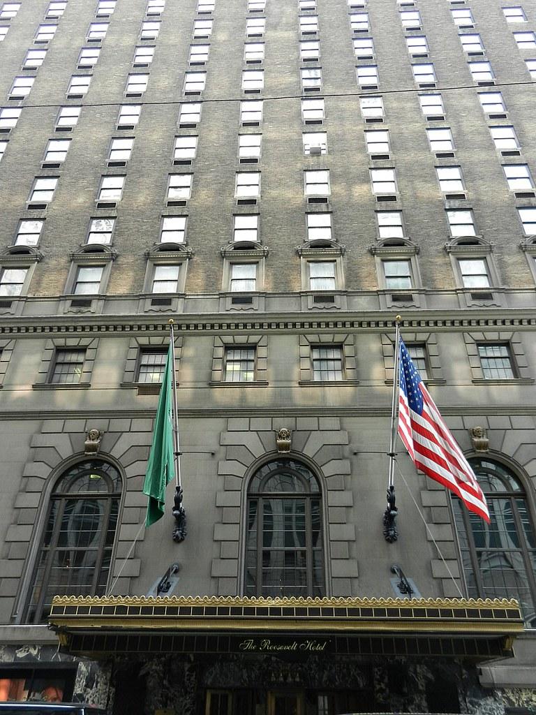 THE ROOSEVELT HOTEL NEW YORK NY