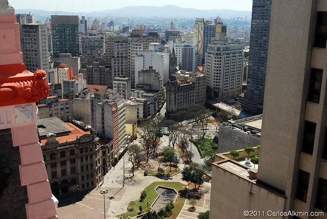 From Martinelli's terrace / São Paulo Downtown