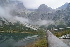 Zelene pleso (the Green Lake) ..