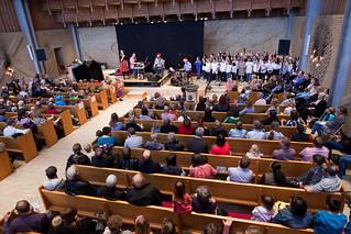 Imageof Skalborg Kirke. koncert børn folkekirken sigurdbarret skalborgkirke