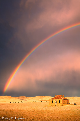 Storm and Rainbow by -yury-