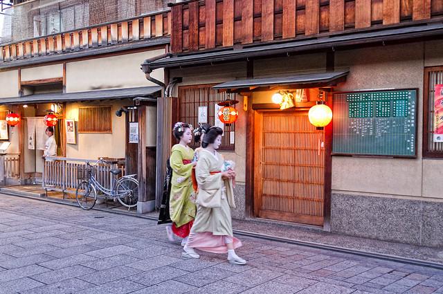 Maiko and Geiko