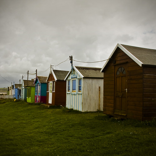 Beach Huts (Again!) by ChrisDale