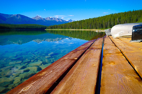 Patricia Lake Rental Boat Dock