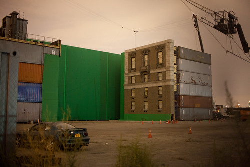 greenscreen facade in greenpoint
