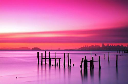 sanfrancisco california ca sunrise dawn bay nikon goldengatebridge baybridge marincounty transamerica d200 sausalito 1870mm northbay cokin nikkor1870mm marinheadland nikond200 cokingnd cokinnd