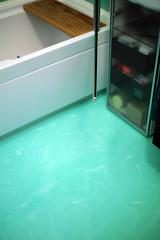 Bagno Resina verde acqua spatolato verticale autolivellant…  Flickr - Photo Sharing!