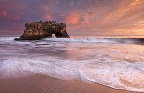 Arch - Natural Bridges State Park - Santa Cruz, CA
