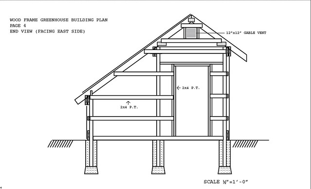 Passive solar greenhouse plans find house plans for Simple passive solar house plans