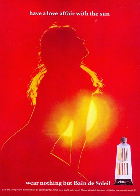 ads bain de soleil 1966 flickr photo