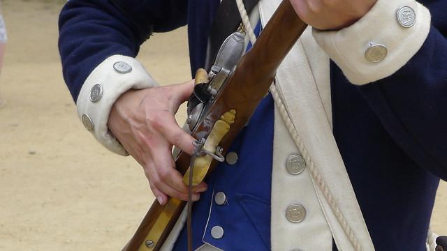 Redcoats & Rebels Revolutionary War Reenactment from Flickr via Wylio