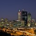 Perth CBD Skyline by berendsrob