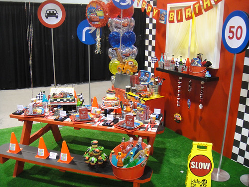 D23 Expo 2011 - Cars themed birthday party supplies