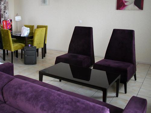 Hotel Amboise Salón