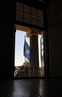 Bonnie Blue Flag at the Warren County Courthouse (Vicksburg, MS)