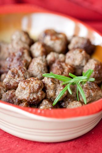 Swedish meatballs / Vürstikad lihapallid