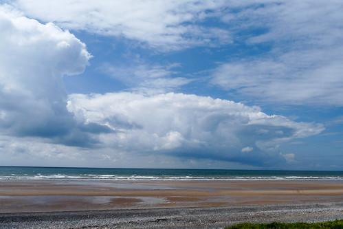 サイルクロフトのビーチ