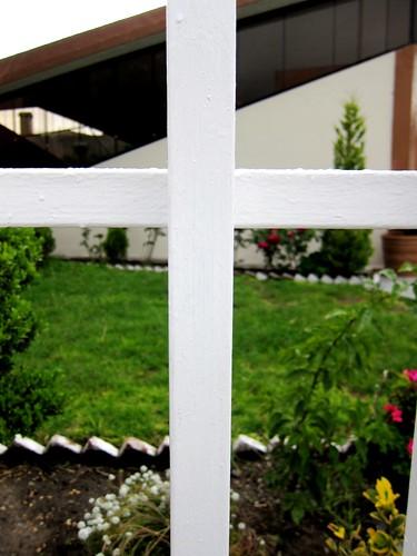 Barrotes que parecen cruces