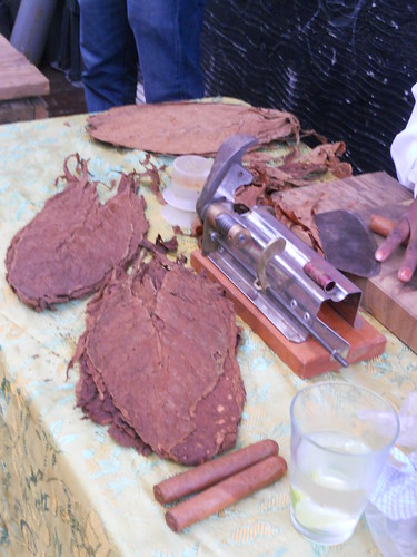 Berta Corzo's Raw Ingredients to produce a Cigar.