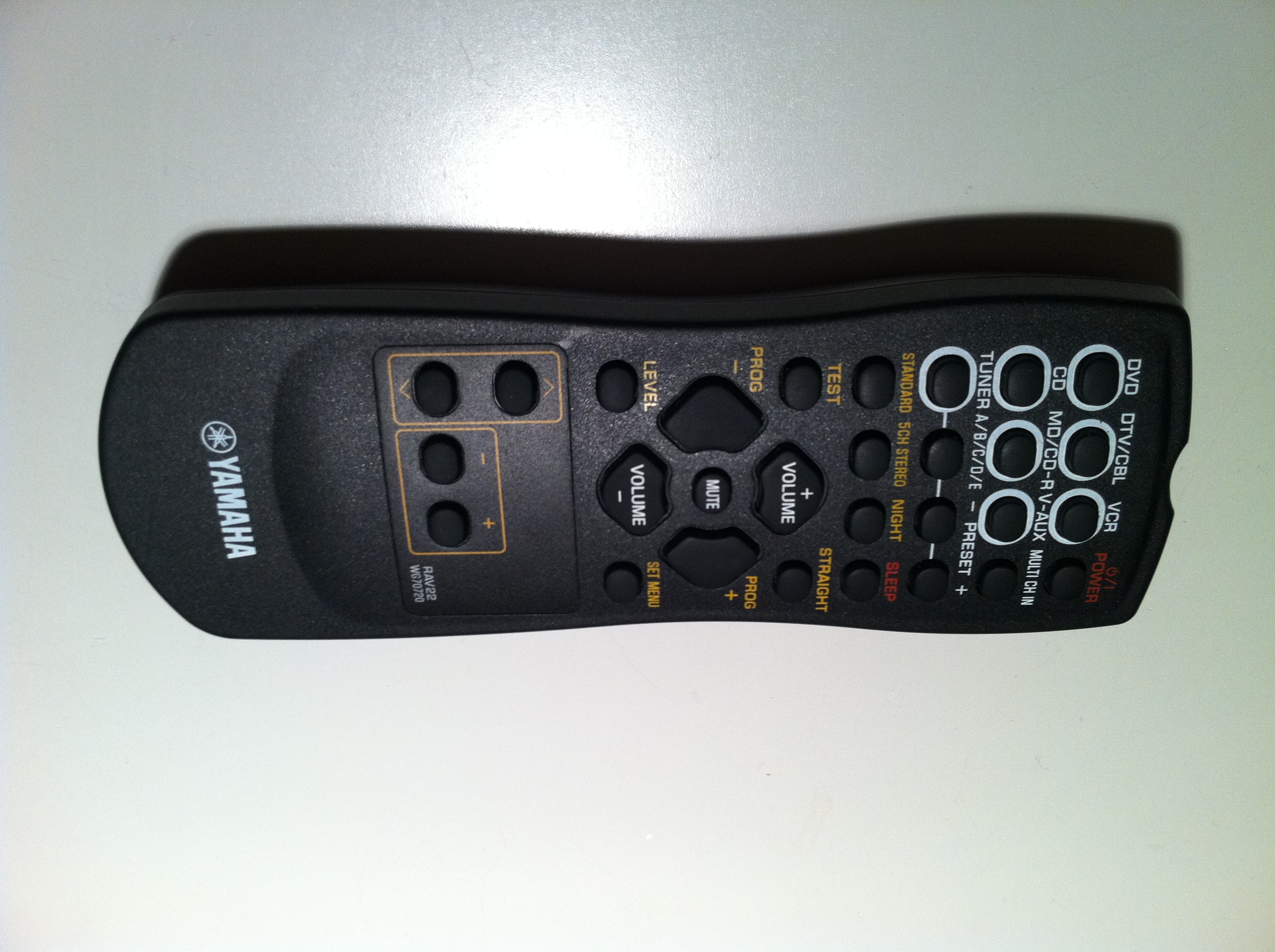 Yamaha Receiver Remote Code For Rav