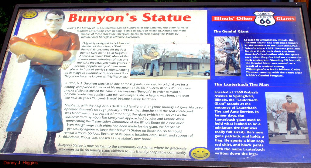 The Bunyon's Statue.   The Muffler Man.....IMG8944