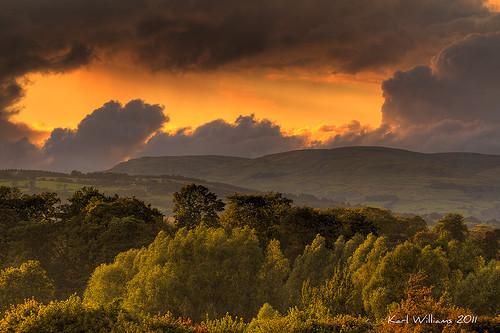 sunset sun clouds landscape scotland bravo gallery skies williams karl hdr campsiefells natureselegantshots saariysqualitypictures touraroundtheworld karlwilliams