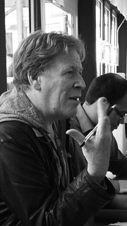 Edinburgh International Book Festival - Pat Mills & Rodge Glass 05