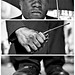 Triptychs of Strangers #18, The Revolutionary Security Guard - London by adde adesokan