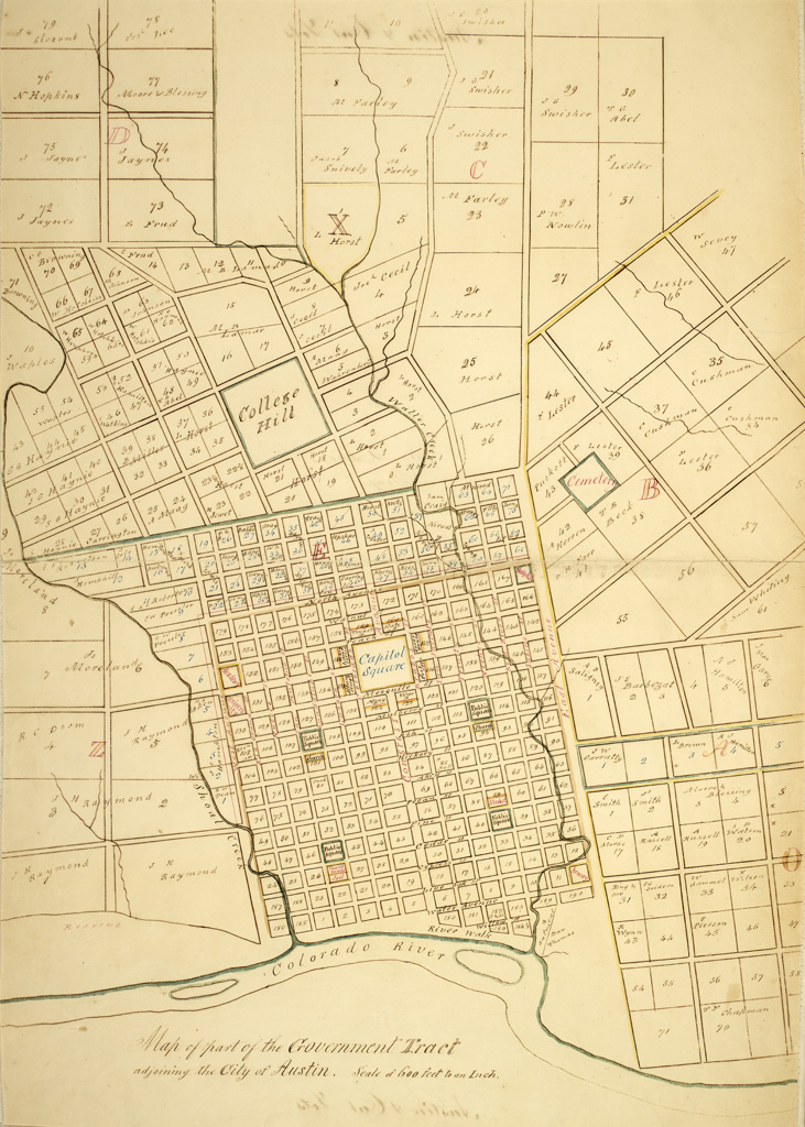 Early Map of Austin, Texas   Early map of Austin showing ori ... on map of nevada las vegas, map of florida gainesville, map of ohio dayton, map of north carolina, map of oregon eugene, map of wyoming cheyenne, map of washington, map of wisconsin milwaukee, map of kentucky, map of colorado denver, mapquest texas austin, map of ohio cincinnati, map of tennessee nashville, map of new york brooklyn, map of pennsylvania, map of new york binghamton, map of rhode island providence, map of new york syracuse, map of new york new york city, map of oklahoma oklahoma city,