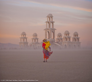 Dusty Walk, Burning Man 2011