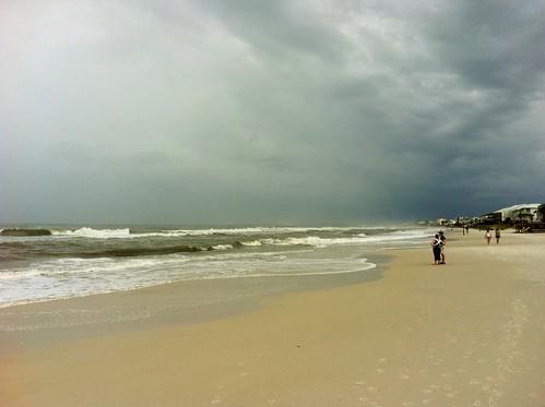 beach florida tropicalstormlee
