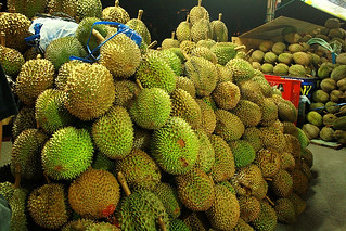 Lots of Durian